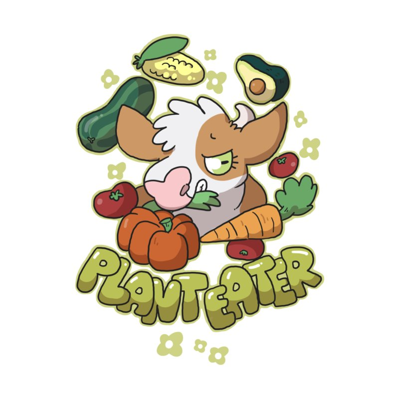 Plant Eater by C.C. Art's Shop