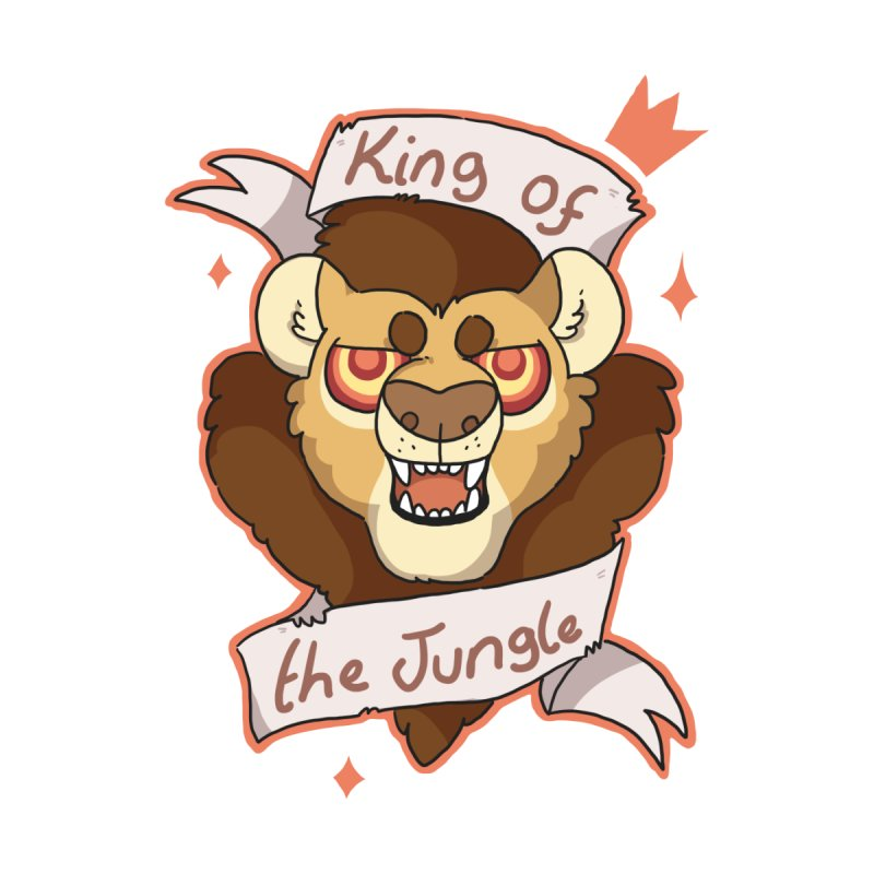 King of the Jungle by C.C. Art's Shop