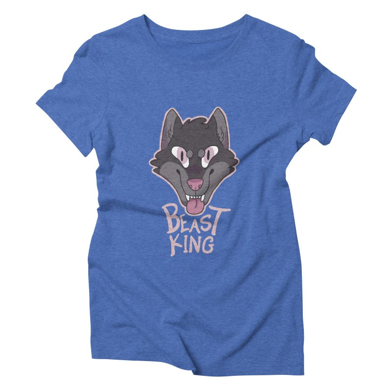 Beast King Women's Triblend T-shirt by C.C. Art's Shop