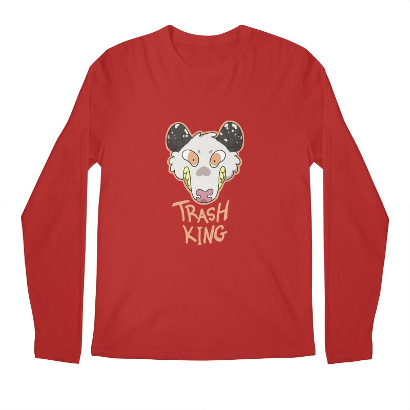 Trash King Men's Longsleeve T-Shirt by C.C. Art's Shop
