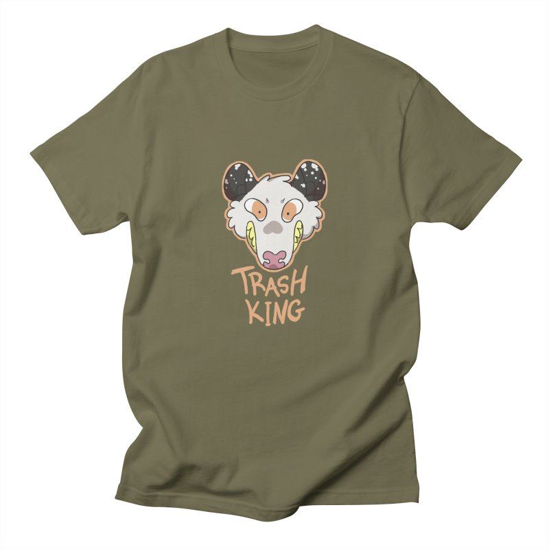 Trash King Women's Unisex T-Shirt by C.C. Art's Shop