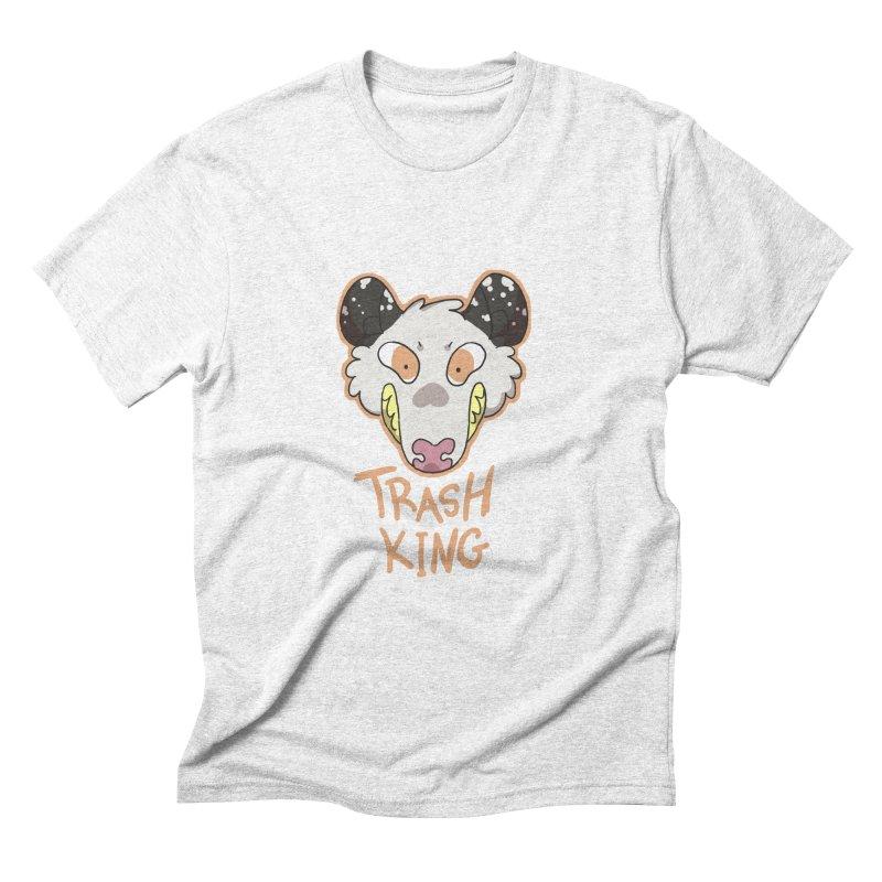 Trash King Men's Triblend T-shirt by C.C. Art's Shop
