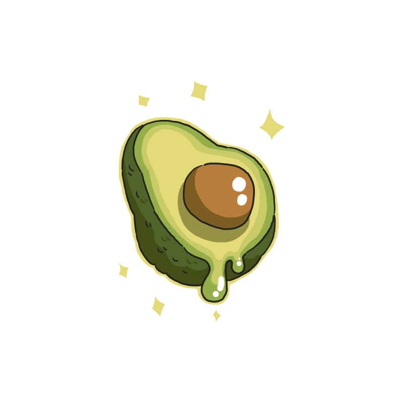 Avocado by C.C. Art's Shop