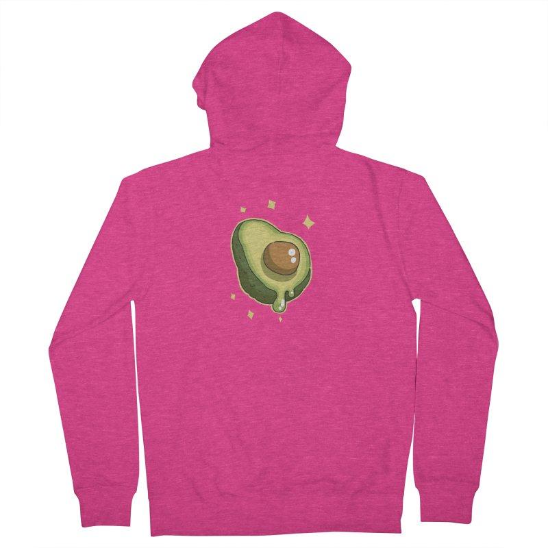 Avocado Women's Zip-Up Hoody by C.C. Art's Shop