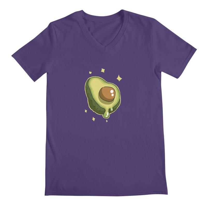 Avocado Men's V-Neck by C.C. Art's Shop