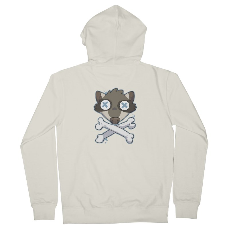 Junk & Crossbones Women's Zip-Up Hoody by C.C. Art's Shop