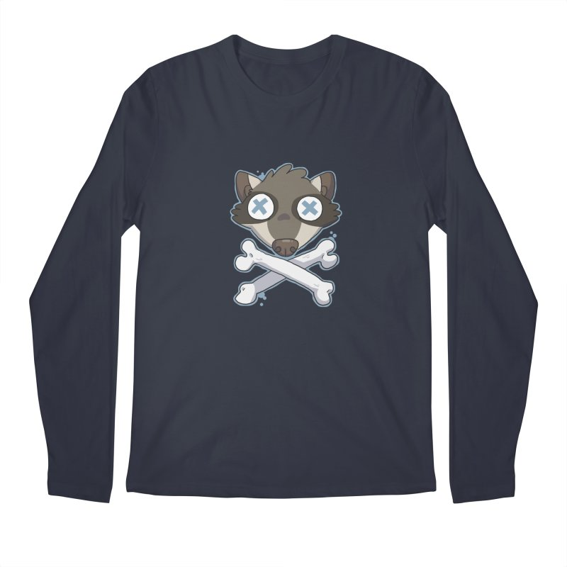 Junk & Crossbones Men's Longsleeve T-Shirt by C.C. Art's Shop