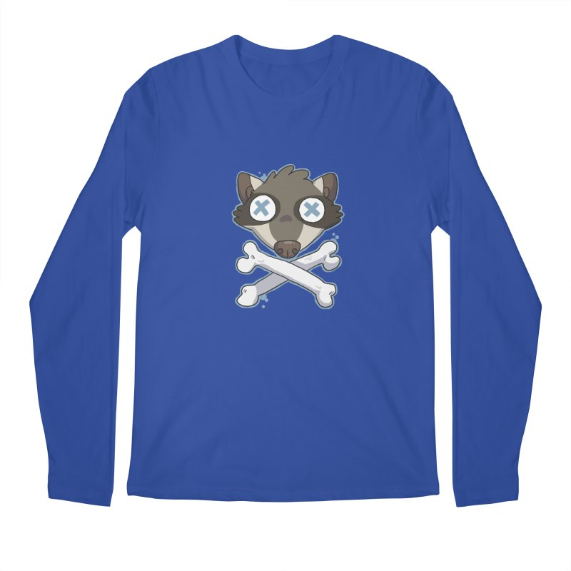 Junk & Crossbones Men's Longsleeve T-Shirt by C.C. Art's Shop