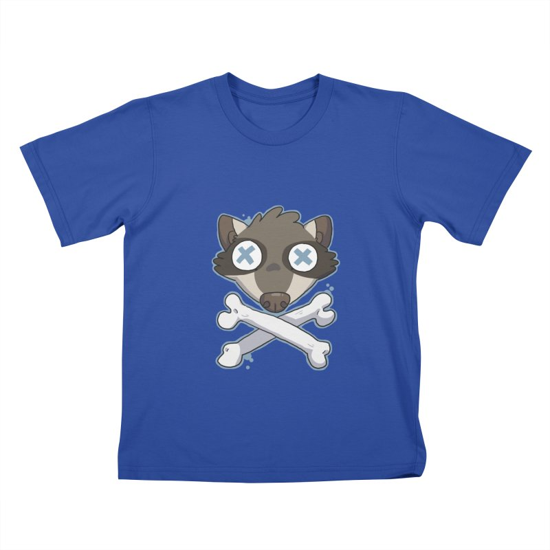 Junk & Crossbones Kids T-Shirt by C.C. Art's Shop