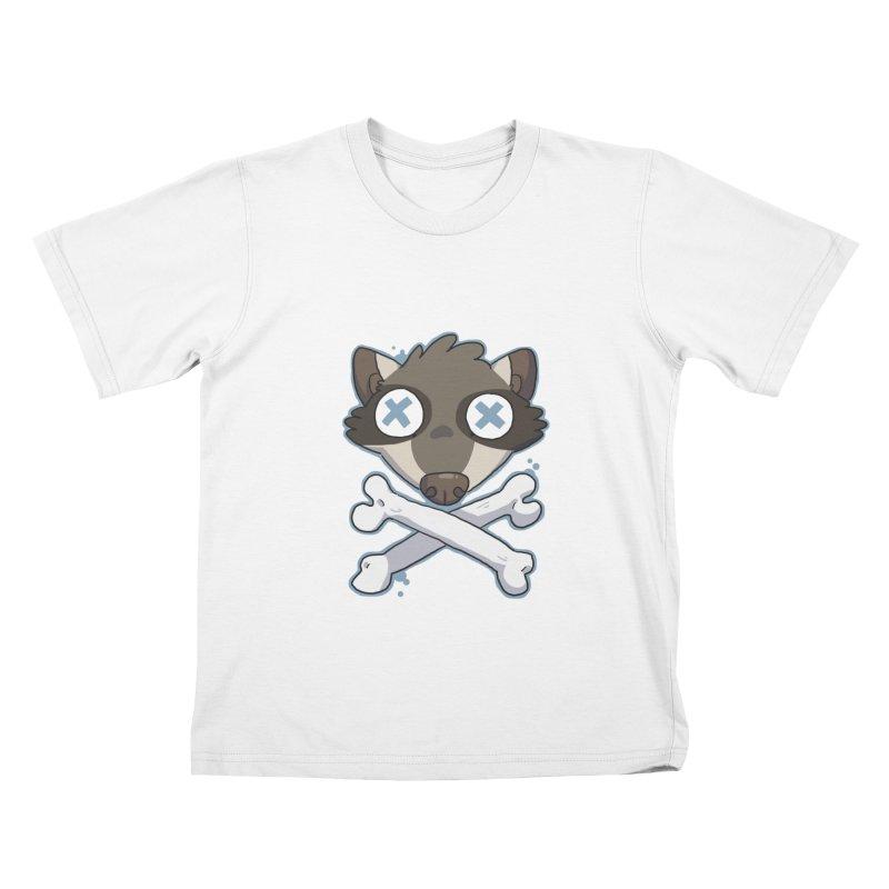 Junk & Crossbones Kids T-Shirt by C.C. Art's Shop