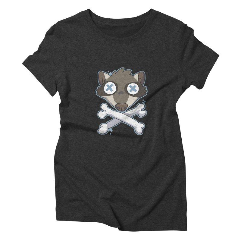 Junk & Crossbones Women's Triblend T-Shirt by C.C. Art's Shop