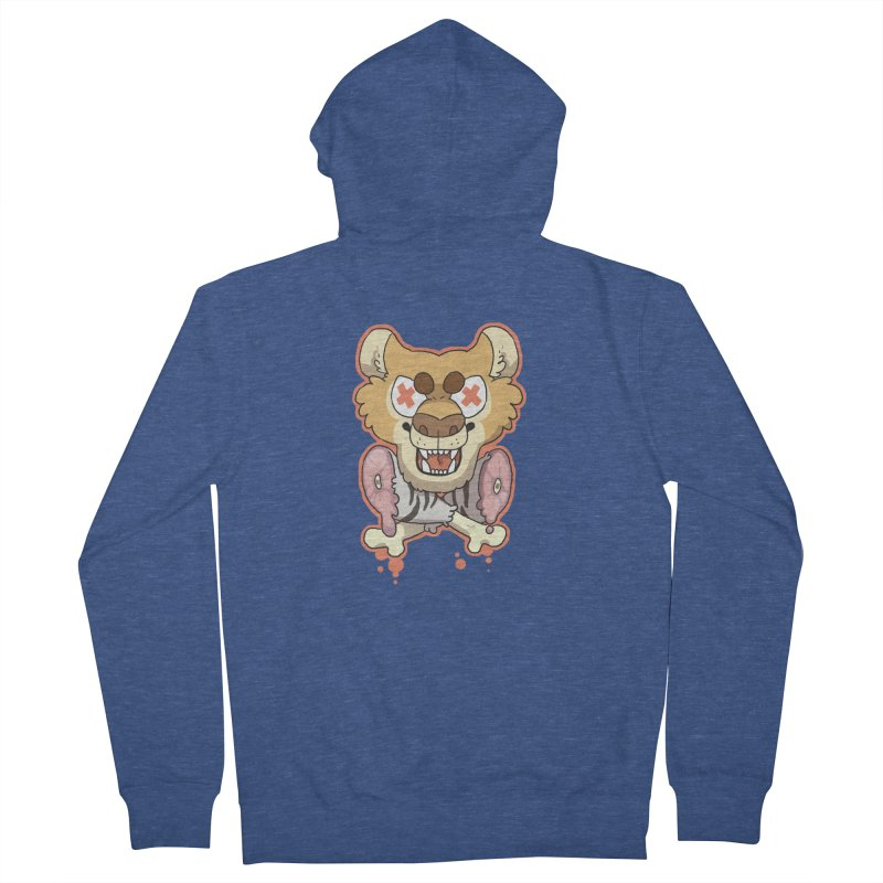 Beast & Crossbones Women's Zip-Up Hoody by C.C. Art's Shop