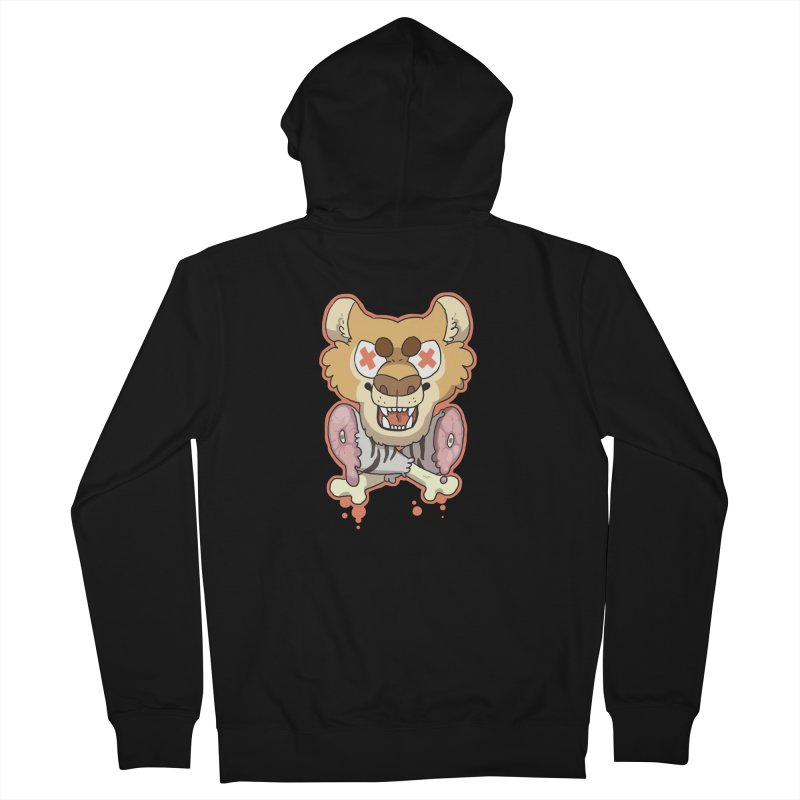 Beast & Crossbones Men's Zip-Up Hoody by C.C. Art's Shop