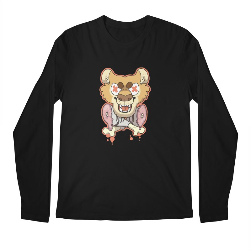 Beast & Crossbones Men's Longsleeve T-Shirt by C.C. Art's Shop