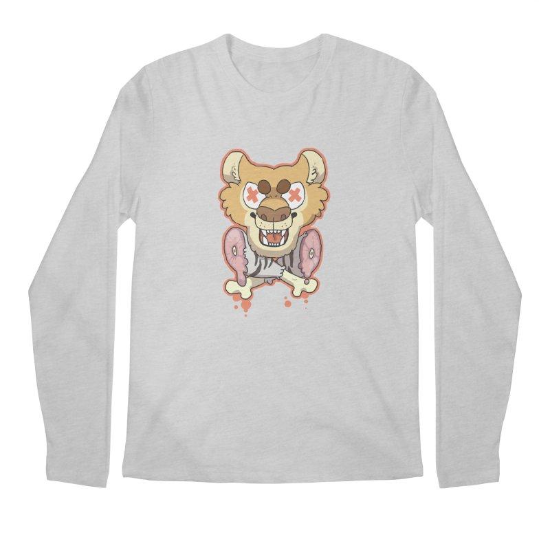Beast & Crossbones Men's Longsleeve T-Shirt by C.C. Art's Shop