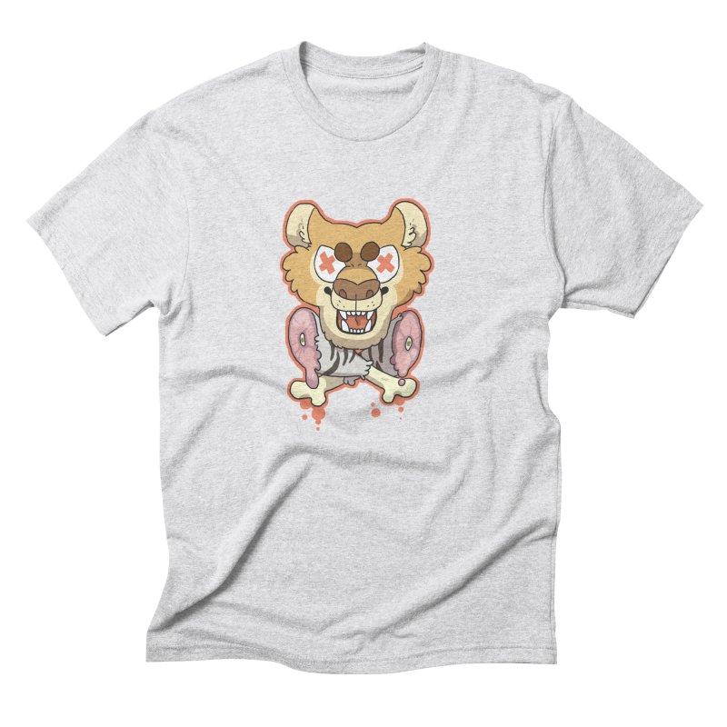 Beast & Crossbones Men's Triblend T-Shirt by C.C. Art's Shop