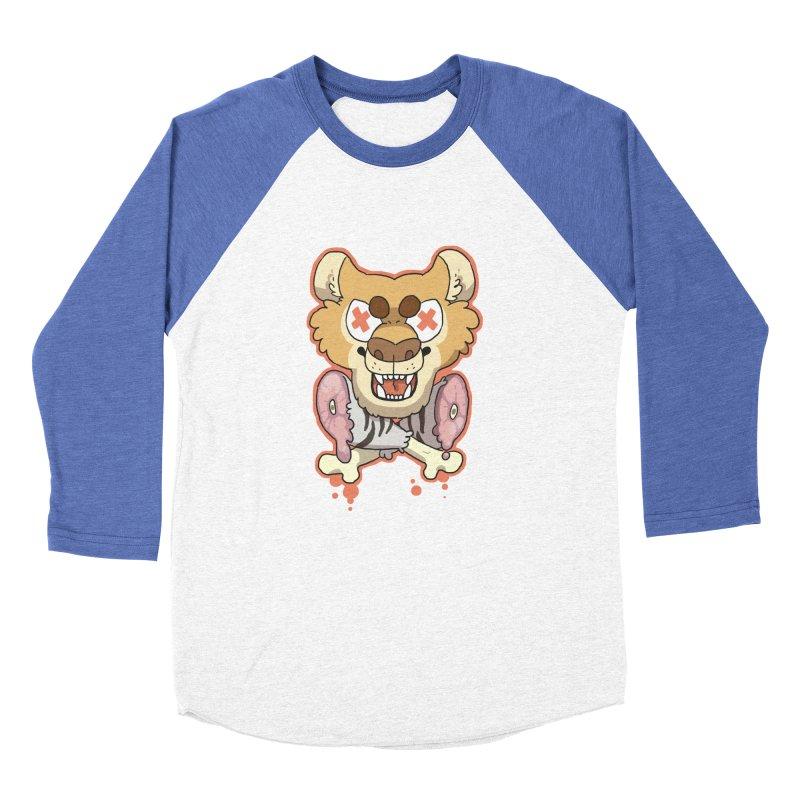 Beast & Crossbones Women's Baseball Triblend T-Shirt by C.C. Art's Shop