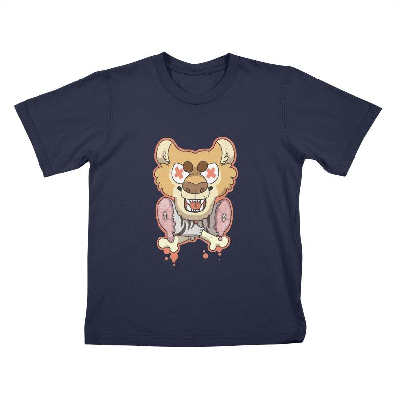 Beast & Crossbones Kids T-Shirt by C.C. Art's Shop