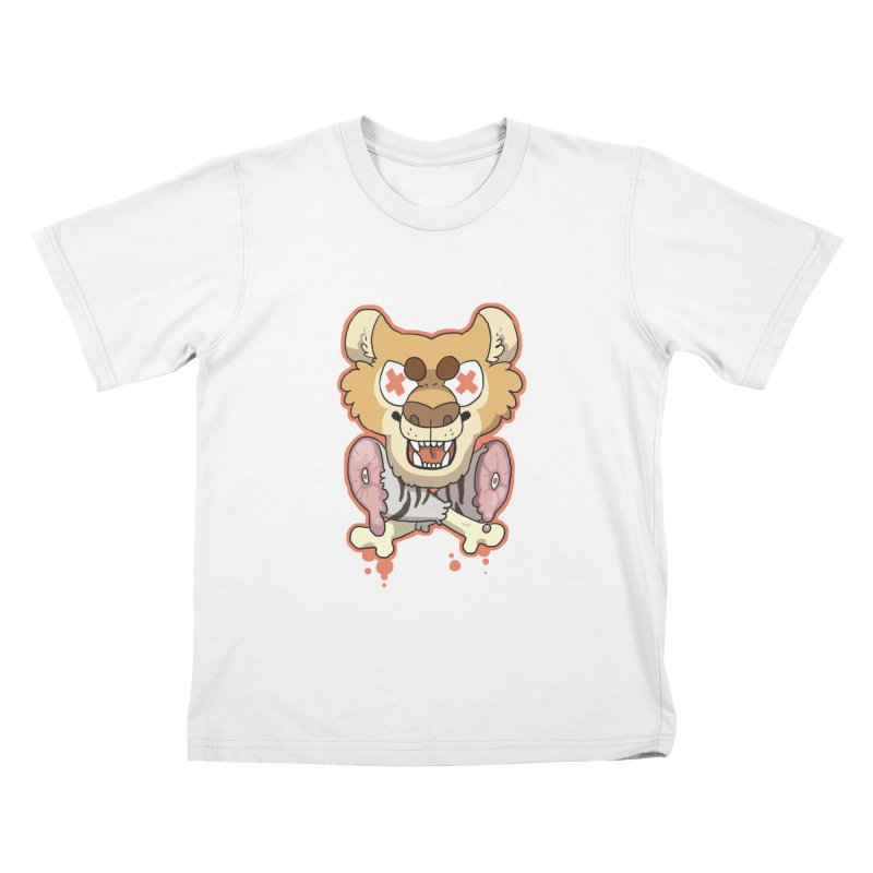 Beast & Crossbones Kids T-Shirt by C.C. Art's Shop