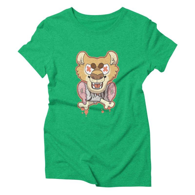 Beast & Crossbones Women's Triblend T-Shirt by C.C. Art's Shop
