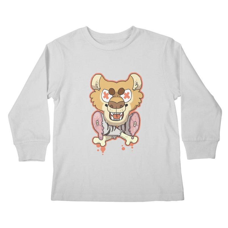 Beast & Crossbones Kids Longsleeve T-Shirt by C.C. Art's Shop