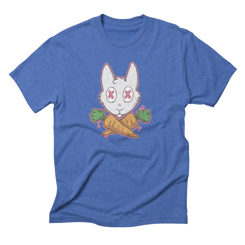 Prey & Crossbones Men's Triblend T-Shirt by C.C. Art's Shop