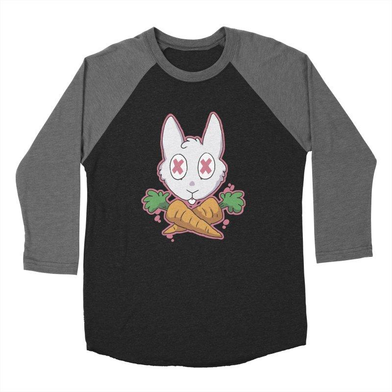 Prey & Crossbones Women's Baseball Triblend T-Shirt by C.C. Art's Shop