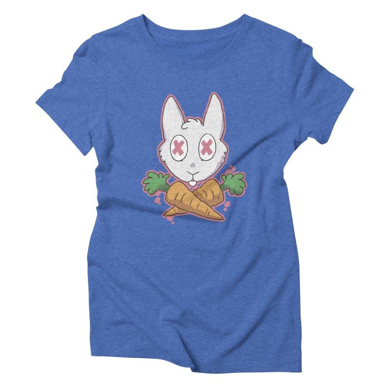 Prey & Crossbones Women's Triblend T-shirt by C.C. Art's Shop