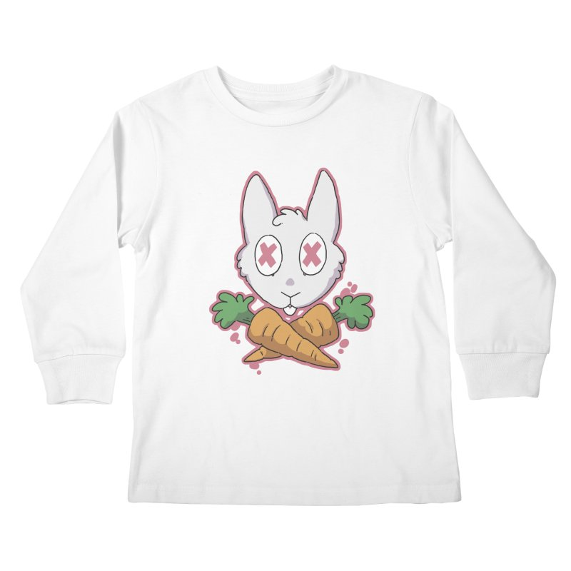 Prey & Crossbones Kids Longsleeve T-Shirt by C.C. Art's Shop
