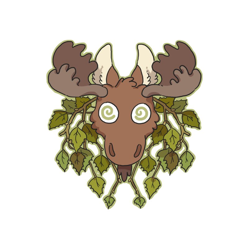 Moose Head by C.C. Art's Shop