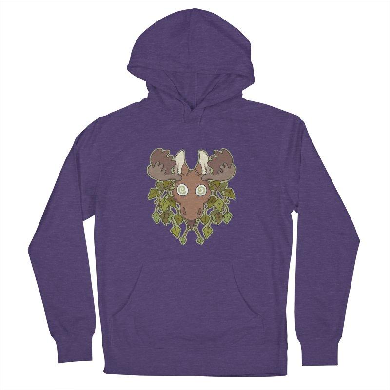Moose Head Women's Pullover Hoody by C.C. Art's Shop