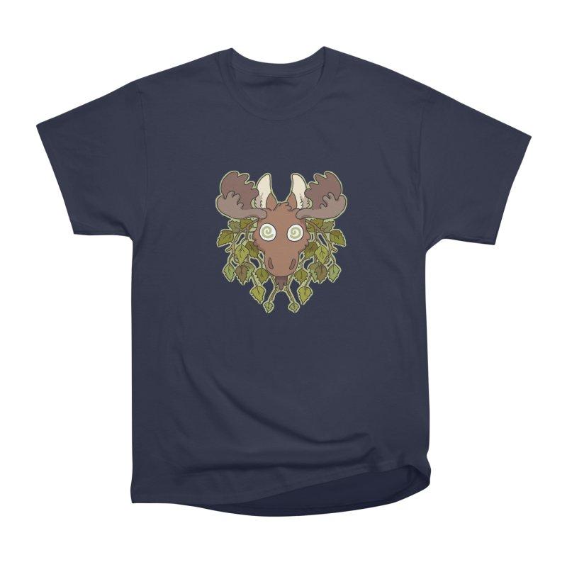 Moose Head Women's Classic Unisex T-Shirt by C.C. Art's Shop