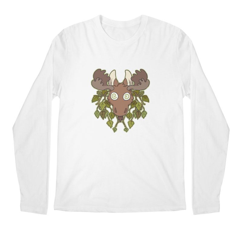Moose Head Men's Longsleeve T-Shirt by C.C. Art's Shop