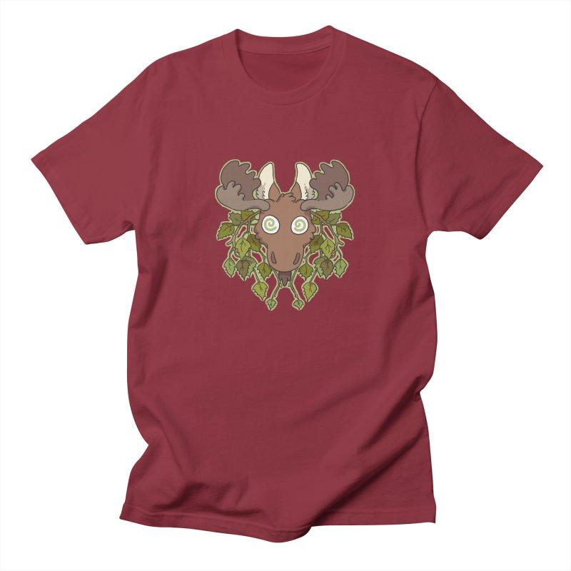 Moose Head Men's T-Shirt by C.C. Art's Shop