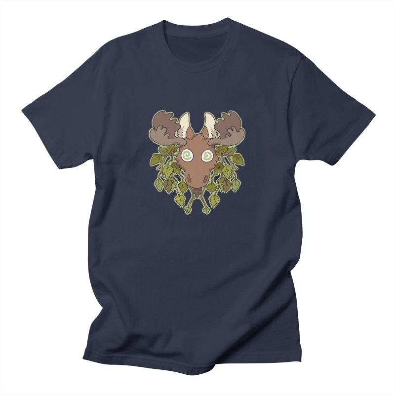 Moose Head Women's Unisex T-Shirt by C.C. Art's Shop