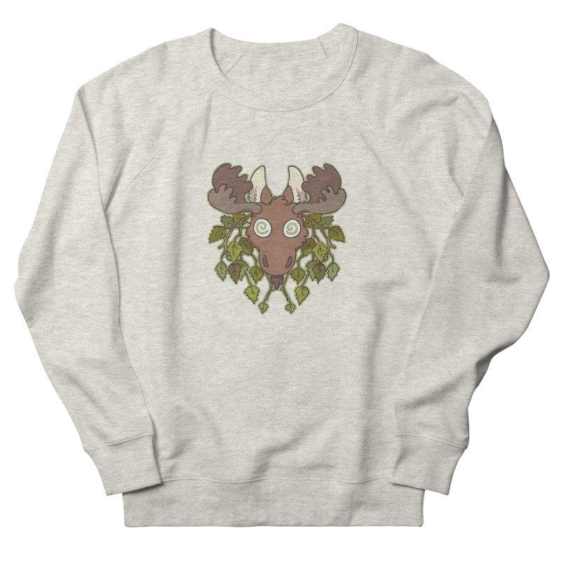 Moose Head Men's Sweatshirt by C.C. Art's Shop