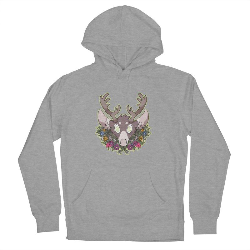 Deer Head Men's Pullover Hoody by C.C. Art's Shop