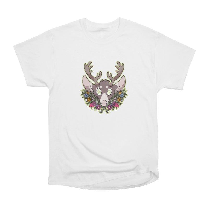Deer Head Women's Classic Unisex T-Shirt by C.C. Art's Shop