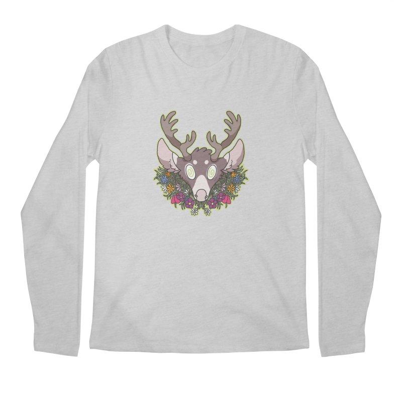 Deer Head Men's Longsleeve T-Shirt by C.C. Art's Shop