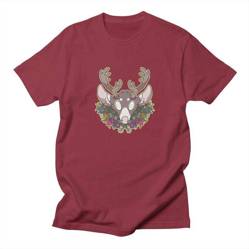 Deer Head Women's Unisex T-Shirt by C.C. Art's Shop