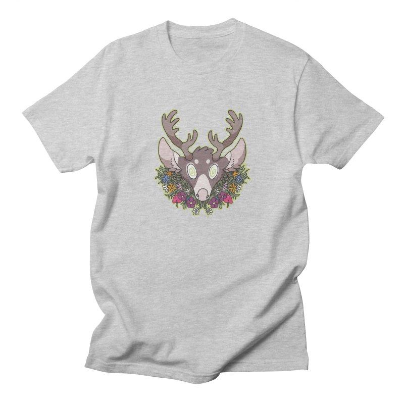 Deer Head Men's T-Shirt by C.C. Art's Shop