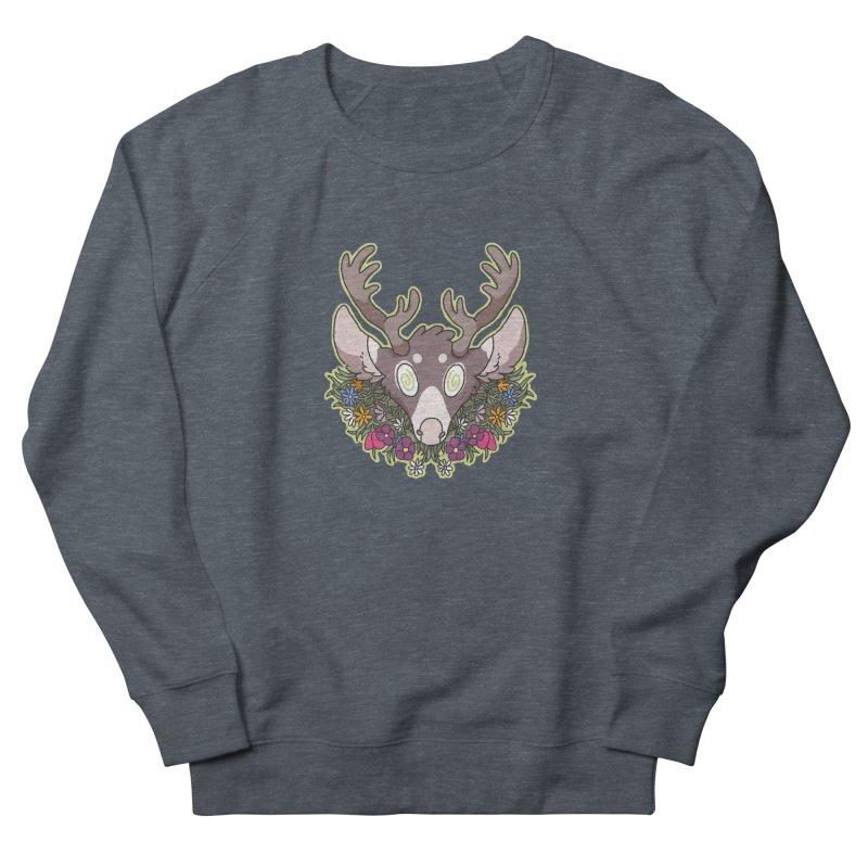 Deer Head Women's Sweatshirt by C.C. Art's Shop