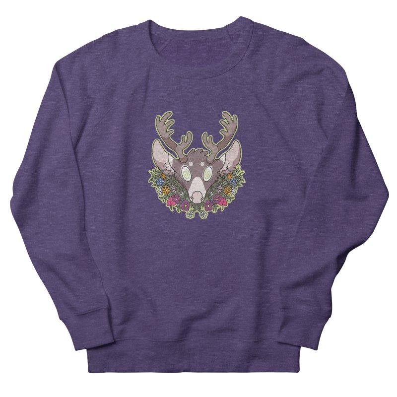 Deer Head Men's Sweatshirt by C.C. Art's Shop