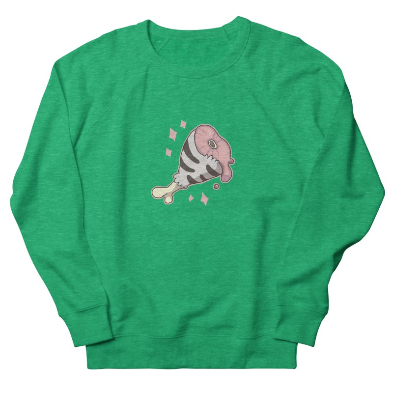 Meat Men's Sweatshirt by C.C. Art's Shop