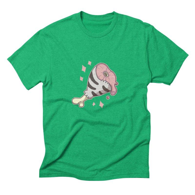 Meat Men's Triblend T-shirt by C.C. Art's Shop
