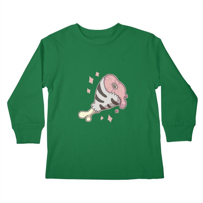 Meat Kids Longsleeve T-Shirt by C.C. Art's Shop