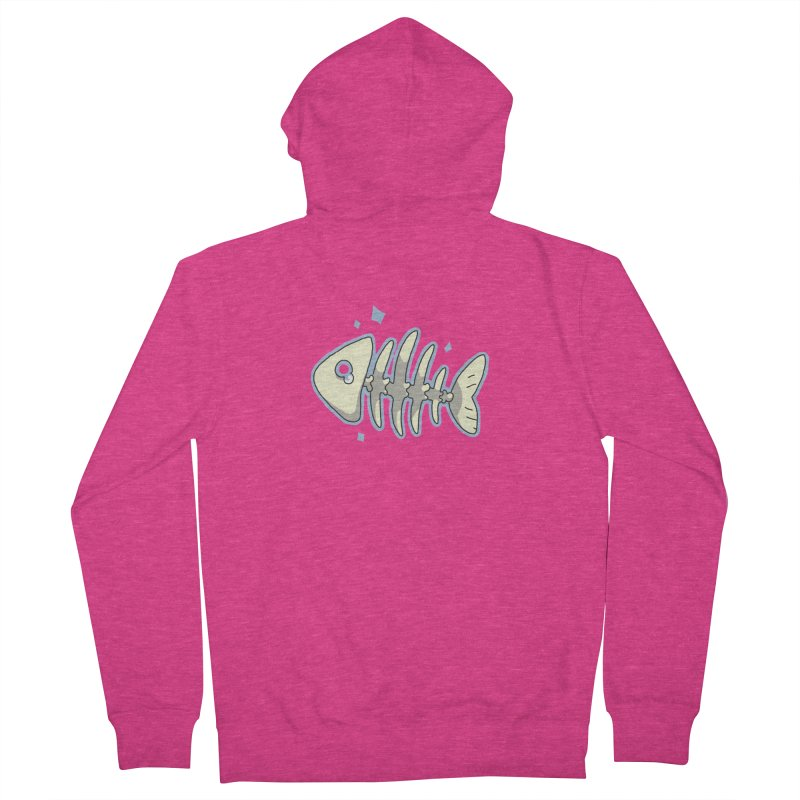 Fishbone Women's Zip-Up Hoody by C.C. Art's Shop