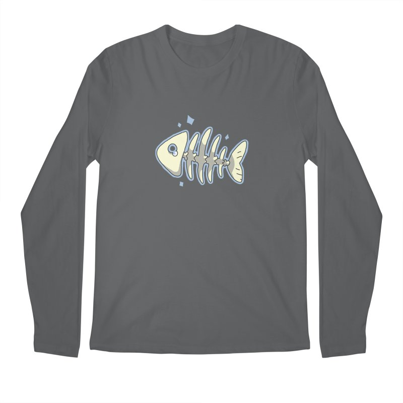 Fishbone Men's Longsleeve T-Shirt by C.C. Art's Shop