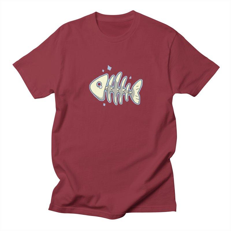 Fishbone Women's Unisex T-Shirt by C.C. Art's Shop