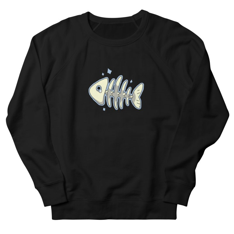 Fishbone Men's Sweatshirt by C.C. Art's Shop